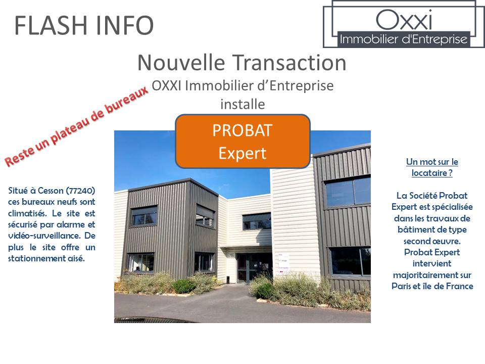 Nouvelle Transaction Oxxi
